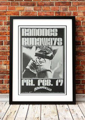 Ramones / Runaways 'Armadillo' Santa Monica USA 1978