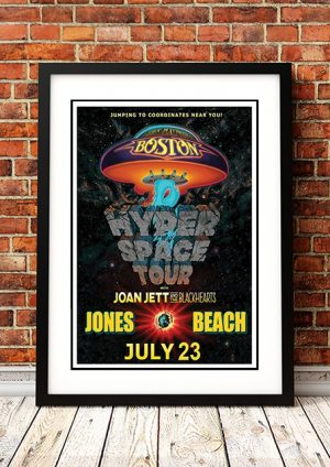 Boston / Joan Jett 'Hyper Space Tour' Jones Beach, USA 2017