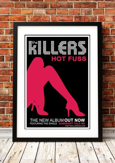 The Killers 'Hot Fuss' In Store Poster 2004-0