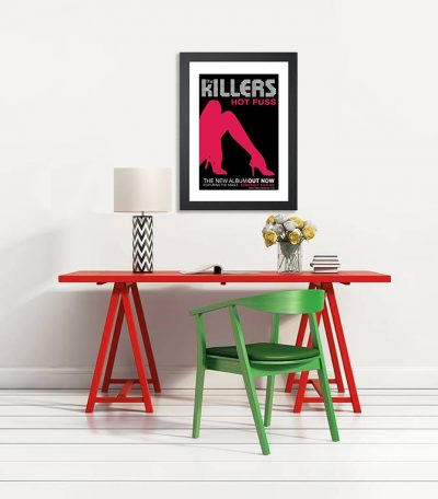 The Killers 'Hot Fuss' In Store Poster 2004-4069