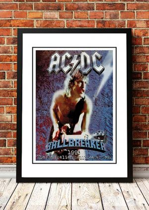 AC/DC 'Ballbreaker' Australian Tour 1996
