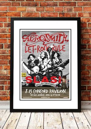 Aerosmith / Slash 'Concord Pavillion' Concord, USA 2013