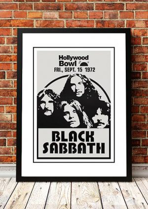Black Sabbath 'Hollywood Bowl' Hollywood, USA 1972