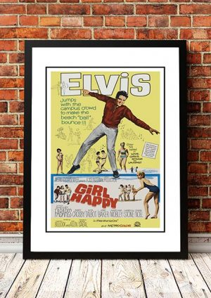 Elvis Presley 'Girl Happy' 1965
