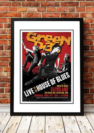 Green Day 'House Of Blues' Cleveland, USA 2015