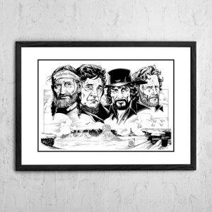 Highwaymen 'Art' Poster