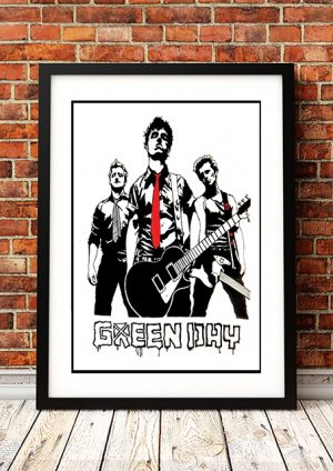 Green Day 'Art' In Store Poster 1995