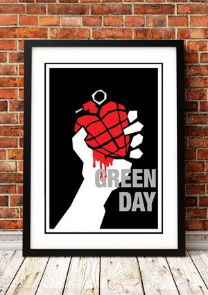 Green Day 'American Idiot' In Store Poster 2004