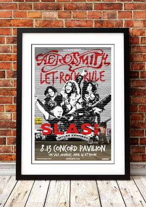 Aerosmith / Slash 'Concord Pavillion' Concord, USA 2013