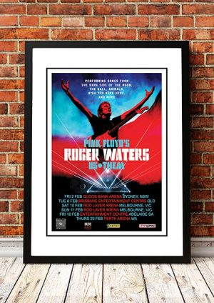 Roger Waters 'Us And Them' Australian Tour 2018