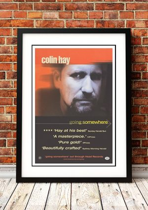 Colin Hay 'Going Somewhere' In Store Poster 2011