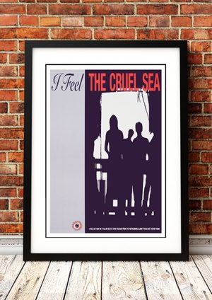 Cruel Sea 'I Feel' In-Store Poster 1991