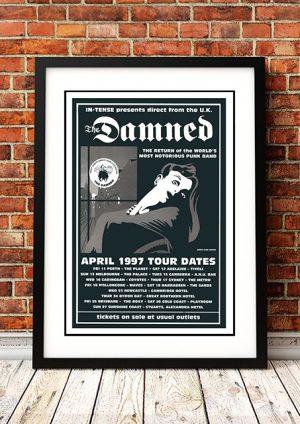 The Damned 'Australian Tour' 1997