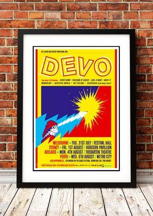 DEVO 'AUSTRALIAN TOUR' 2008