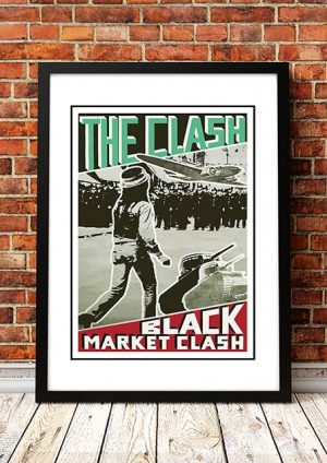 The Clash 'Black Market Clash' In Store Poster 1980