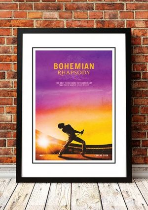 Queen 'Bohemian Rhapsody' Movie Poster 2018