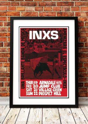 INXS 'Una Brillante' Melbourne, Australia 1981