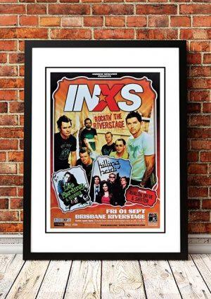 INXS 'Rockin' The Riverstage' Brisbane, Australia 2006