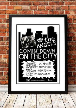 Angels (Angel City) 'Comin Down On The City' Sydney, Australia 1978