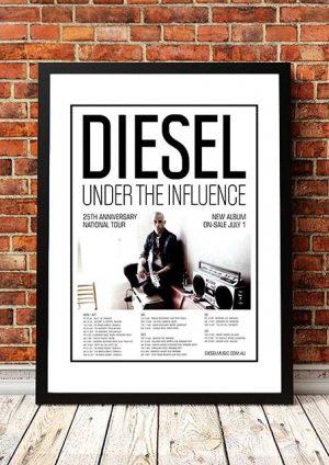 Diesel 'Under The Influence' Australian Tour 2011