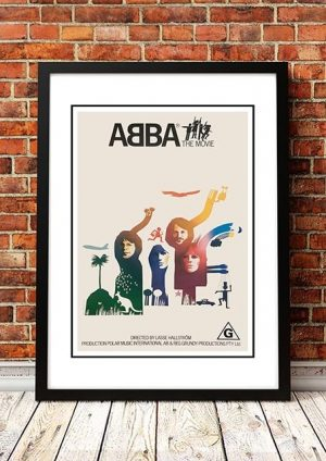 ABBA 'The Movie' Movie Poster 1977