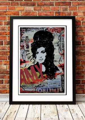Amy Winehouse 'Art' Poster
