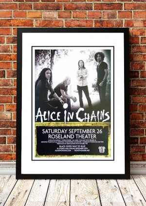 Alice In Chains 'Roseland Theatre' Portland, USA 2009