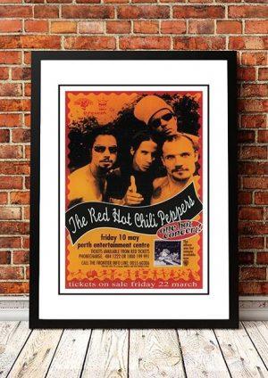Red Hot Chili Peppers 'Perth, Australia' 1996