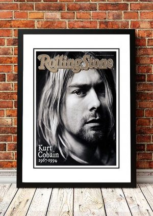 Nirvana 'Rolling Stone Magazine' Front Cover 1994