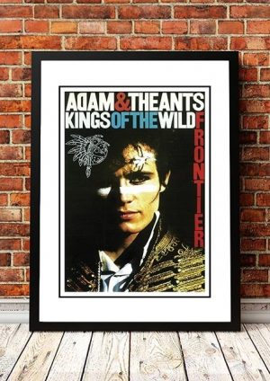 Adam And The Ants 'Kings Of The Wild Frontier' In Store Poster 1980