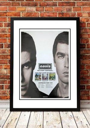 Oasis 'Australian Tour' 1998
