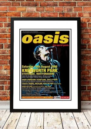 Oasis 'Knebworth Park' Hertfordshire, UK 1996