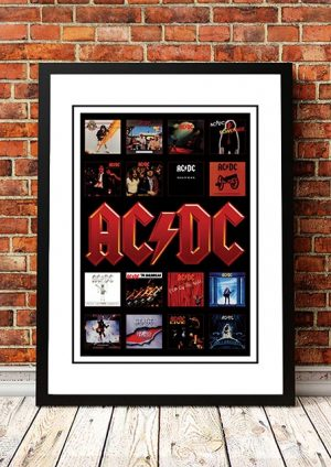 AC/DC 'Albums' Poster 2005