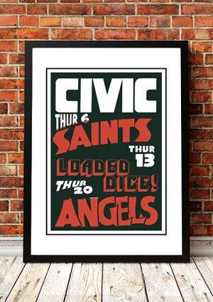 Angels (Angel City) / The Saints 'Civic Hotel' Sydney, Australia 1979