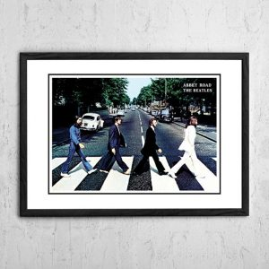 The Beatles 'Abbey Road' In Store Poster 1969
