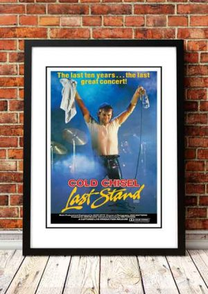 Cold Chisel 'Last Stand' Movie Poster 1983