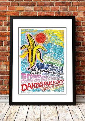 Dandy Warhols 'Dandy Warhols Rule OK' Poster