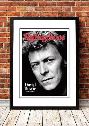 David Bowie 'Rolling Stone Magazine Cover' Poster 2016