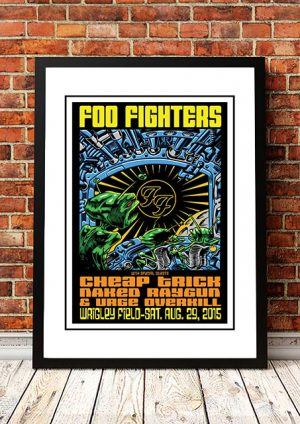 Foo Fighters / Cheap Trick 'Wrigley Field' Chicago, USA 2015