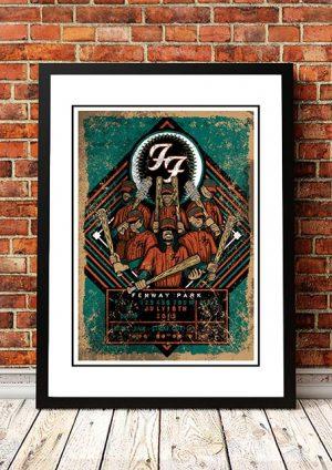 Foo Fighters 'Fenway Park' Boston, USA 2018