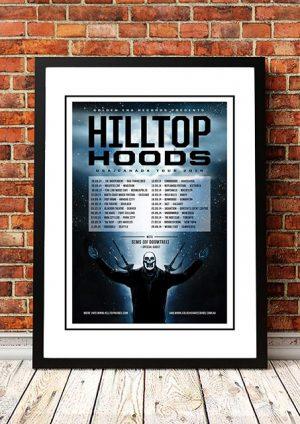 Hilltop Hoods 'USA Tour Poster' 2014