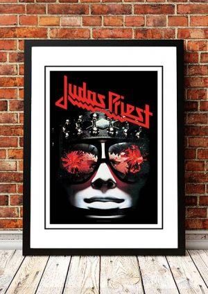 Judas Priest 'Killing Machine' In Store Poster 1978