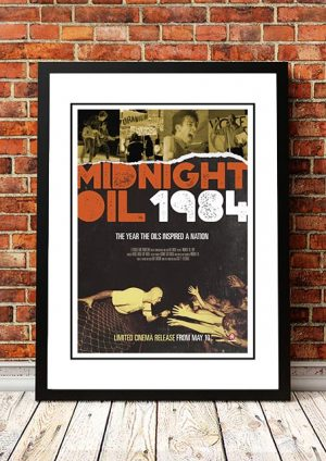 Midnight Oil '1984' Movie Poster 2018