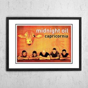 Midnight Oil 'Capricornia' In Store Poster 2002