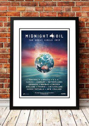 Midnight Oil 'Great Circle' World Tour 2017