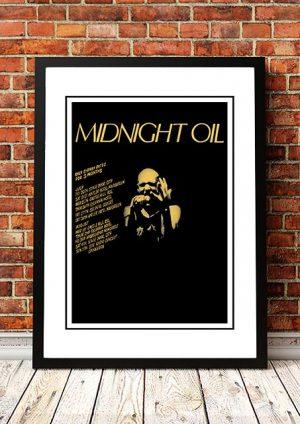 Midnight Oil 'Last Sydney Dates' Sydney, Australia 1979