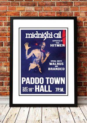 Midnight Oil 'Paddo Town Hall' Sydney, Australia 1978