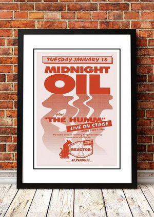 Midnight Oil 'Panthers' Sydney, Australia