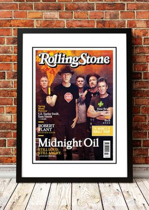 Midnight Oil 'Rolling Stone Magazine' Cover 2017