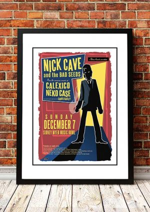 Nick Cave And The Bad Seeds 'Myer Music Bowl' Melbourne Australia 2003